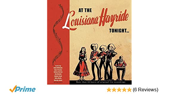 75c6cb2ddf63 Various Artists - At The Louisiana Hayride Tonight - Amazon.com Music