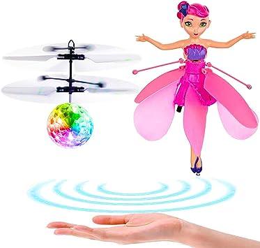 Dreamsbox Bola voladora Pelota voladora Muñeca de Hada voladora ...