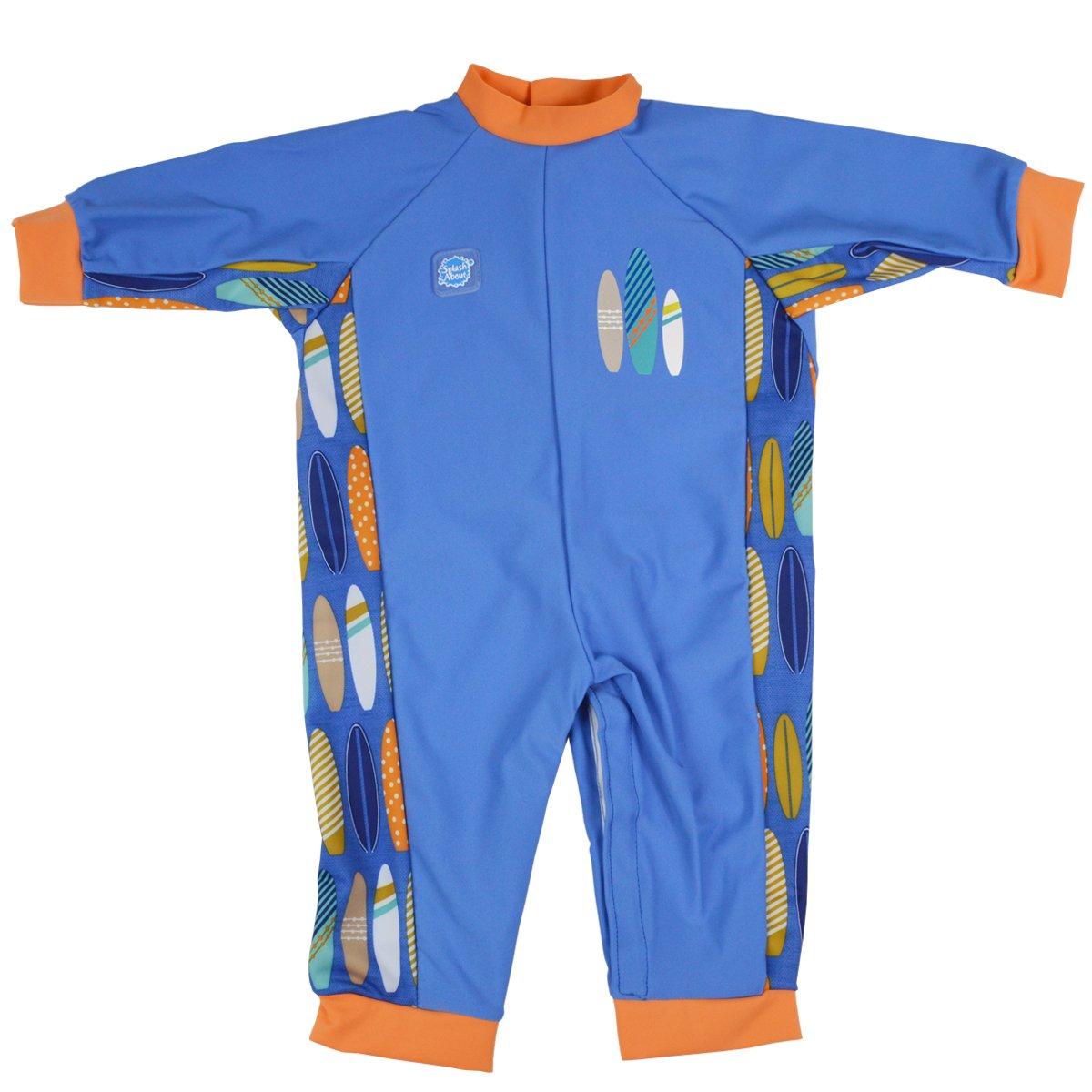 Splash About Children's UV All in One Eczema Suit (Surfs Up, 0-3 Months)