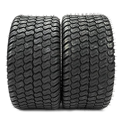 SUNROAD 2PCS Lawn Mower Golf Cart Turf Tires-18×9.50-8 P322/4PR – 13032