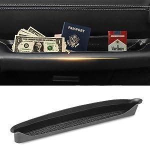 Grab Tray Passenger Storage for Jeep Wrangler Accessories, Jeep Wrangler JL JLU 2018-2019 & 2020 Jeep Gladiator Accessories, Interior Accessories for Jeep JL Organizer (18-19)