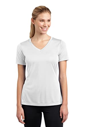 db291852118 Sport-Tek Women's Athletic Shirts at Amazon Women's Clothing store: