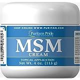 Puritan's Pride MSM Cream-4 oz Cream