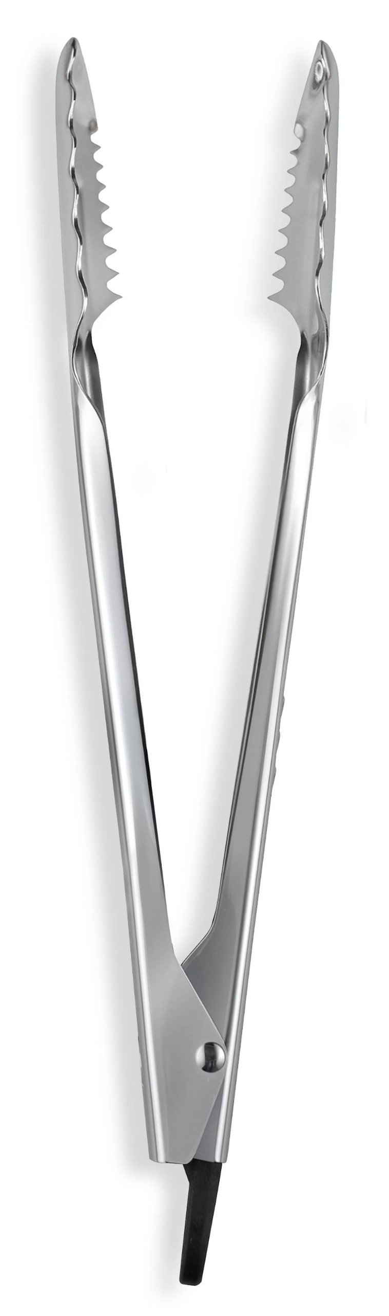 iSi Basics 12-Inch Pro Tongs, Polished Stainless Steel