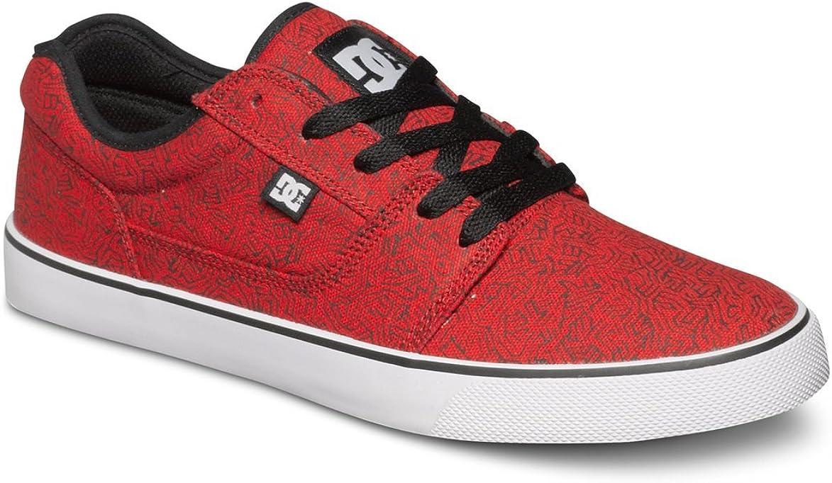 DC Men's Tonik SP Lace-Up Sneaker Red/Black