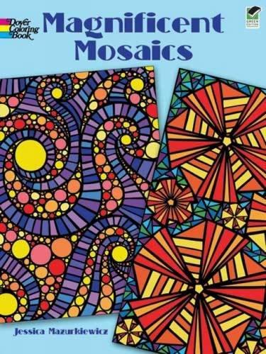 Magnificent Mosaics (Dover Design Colori