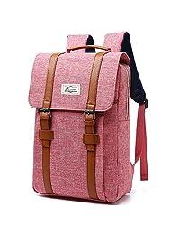 R207 15.6INCH Laptop Bag Business Case Classic Daypack Bookbag Travel Backpack School Bag