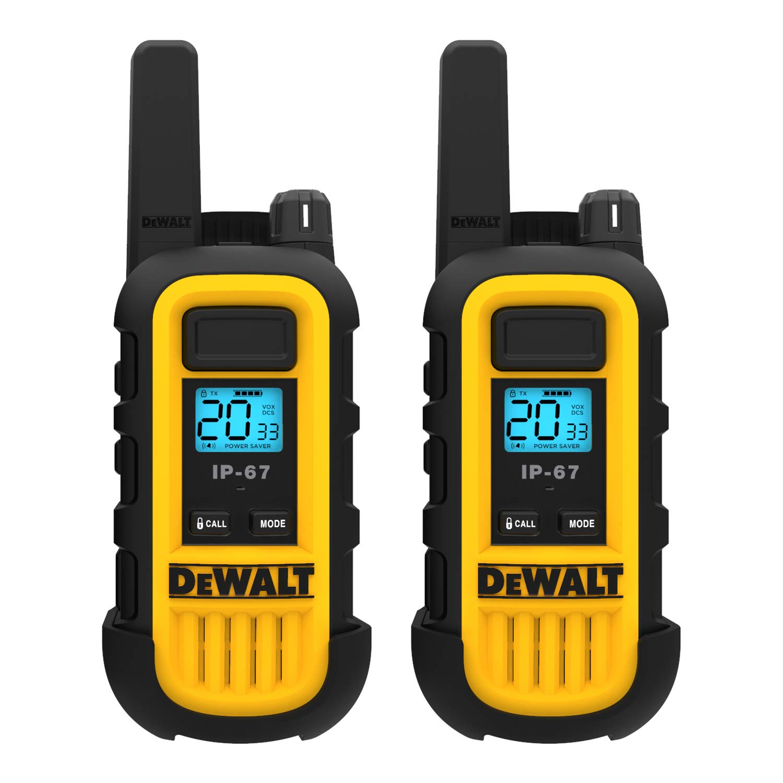 DeWALT DXFRS300 1W Walkie Talkies Heavy Duty Business Two-Way Radios (Pair) by DEWALT (Image #2)