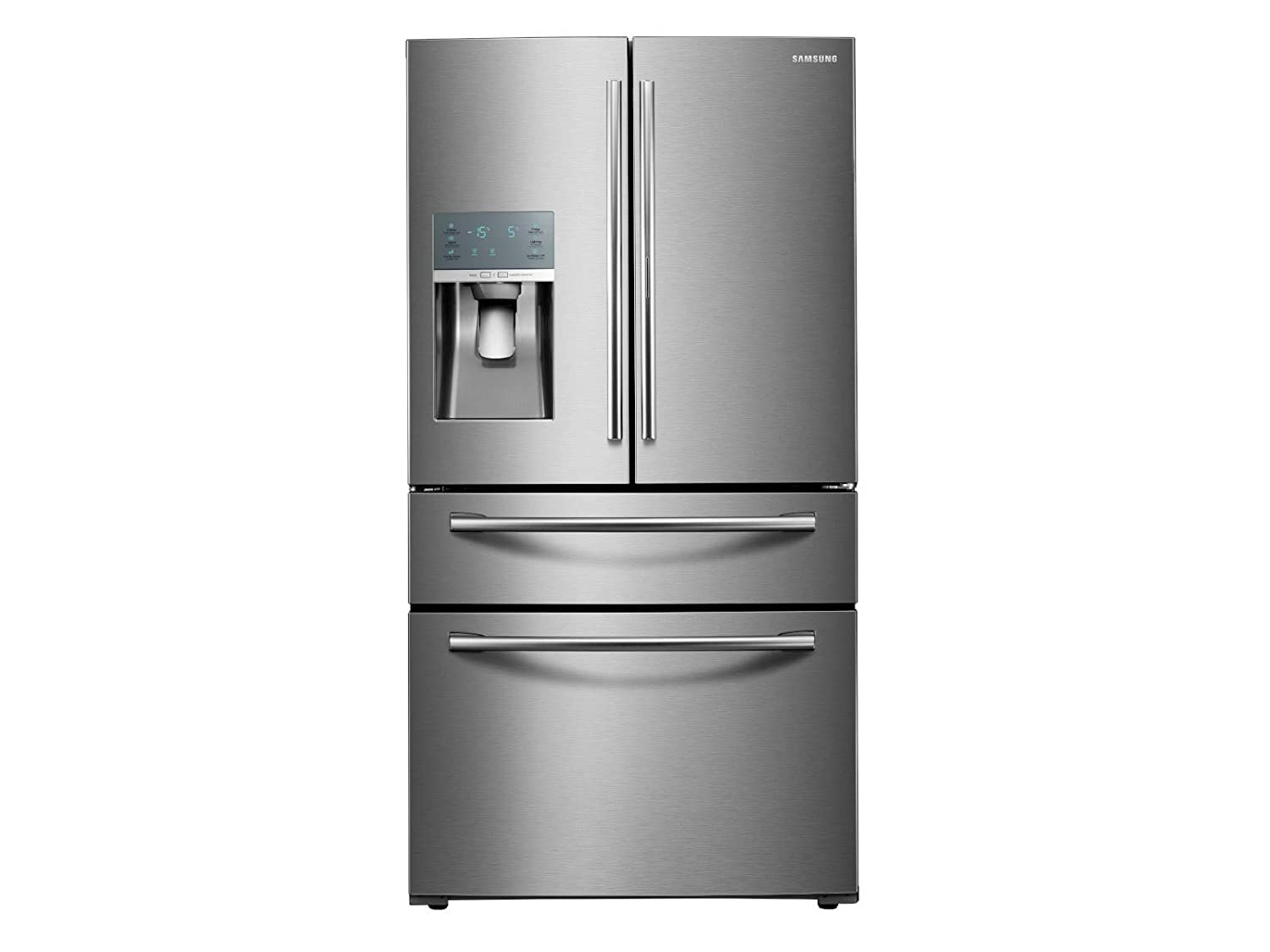 """Samsung Appliance RF28JBEDBSR 36"""" Energy Star Rated Food Showcase French Door Refrigerator in Stainless Steel"""