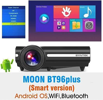 FANGLING-projectors HD Moon BT96Plus Android WiFi Smart Video ...