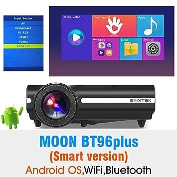 FANGLING-projectors HD Moon BT96Plus Android WiFi Smart ...