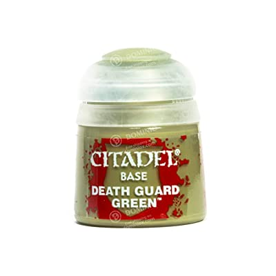 Games Workshop Citadel Base Death Guard Green: Toys & Games