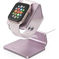 Lamicall Ladestation für Apple Watch, Charging Dock Station : Halterung Ständer kompatibel mit Apple Watch Series 5 / 4 / 3 / 2 / 1 - Rose Gold