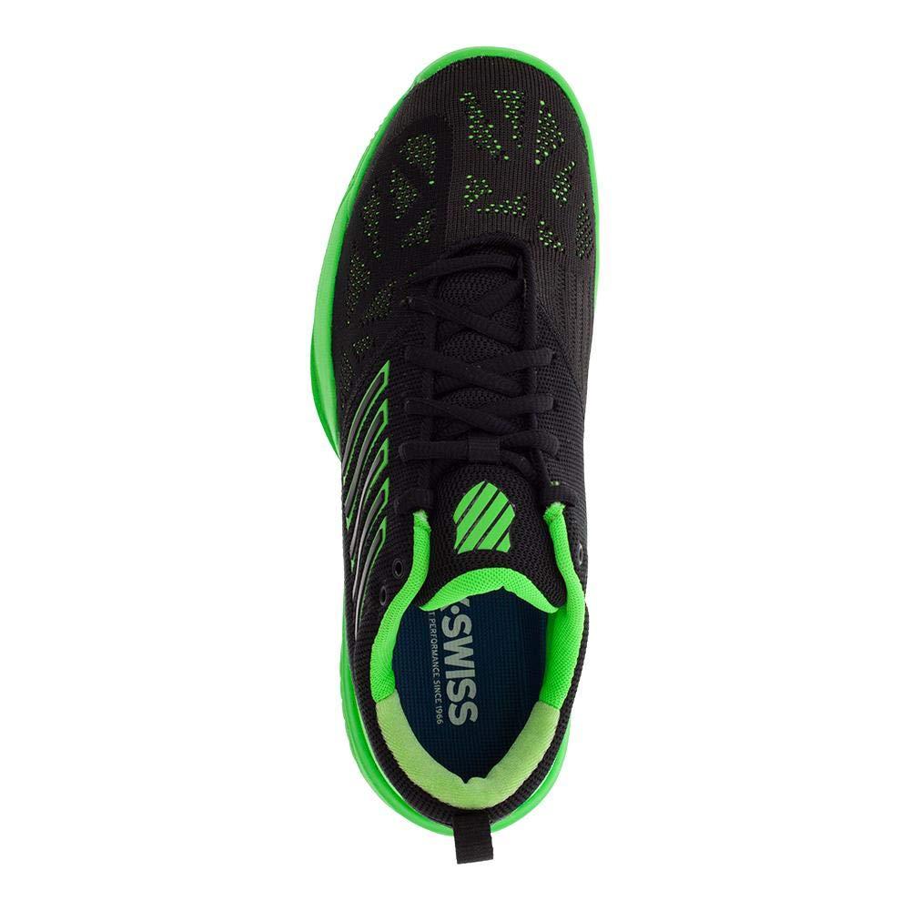 d0632bdd K Swiss KNITSHOT Negro Verde 05397398: Amazon.es: Deportes y aire libre