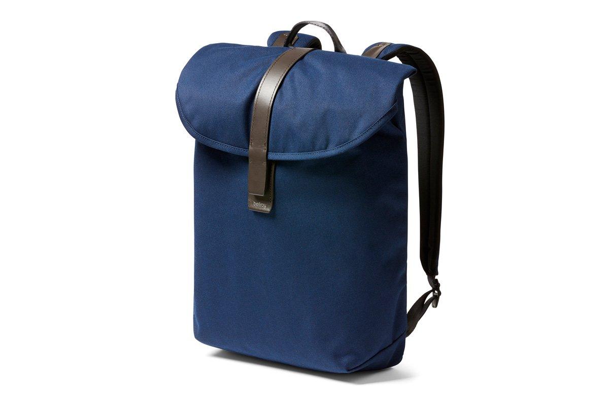 Bellroy Slim Backpack (16 liters, 15 Laptop) Navy 15 Laptop) Navy BSBA-Navy