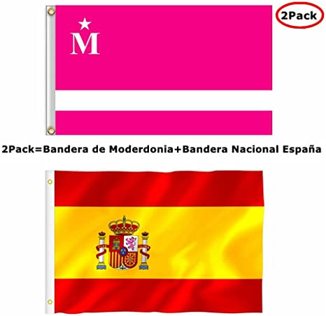 Bandera de Moderdonia del Programa La Vida Moderna Flag 90 cm x ...