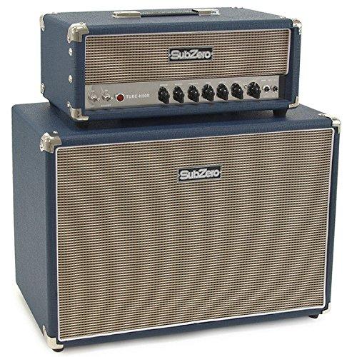 SubZero Tube-H50R 50W Gitarrenverstärker-Stack Vollröhre