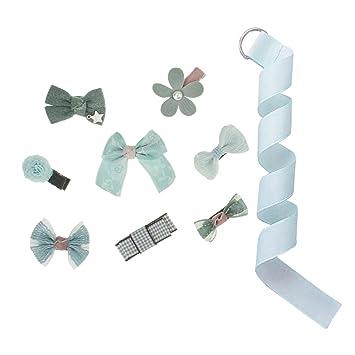 Haarspangenclips Mit Schleifen Und Blume Für Kindermädchen