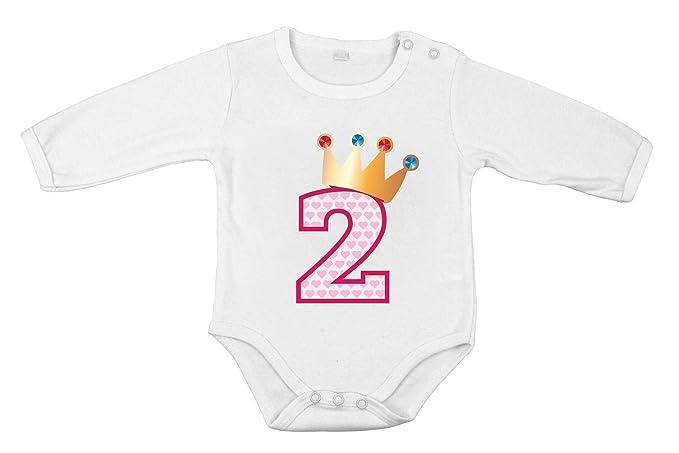 Segundo cumpleaños Regalo para bebé niño Body de algodón ...
