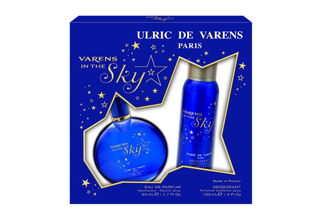 ULRIC DE VARENS Coffret Varens In The Sky Edp 50 ml + Deo 125 ml 4VINTHESKD125