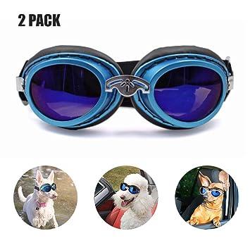DLDL Gafas para Mascotas y Gafas de Sol para Mascotas, Motos ...