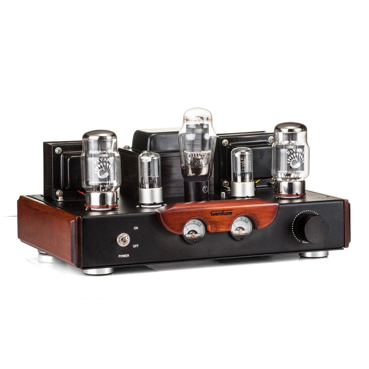 GemTune GS-02 KT88 Hi-Fi Tube Amplifier, Tubes:KT88*2, 6N8P*2, 5Z3P*1,  Hi-end Tube Amplifier, Single-end, Integrated Amplifier, 100% Handmade