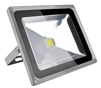 Gut gemocht LED Strahler, LED Fluter, 50 Watt Kaltweiss LED Flutlicht, 50W PI82