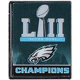 Philadelphia Eagles and Super Bowl LII Champion Logo Collector Pin