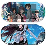 Skin Decal Sticker For PS VITA 2000 Series Pop Skin-Akiba's Trip #01+Screen Protector+Offer Wallpaper Image