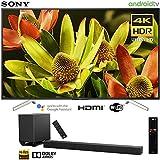 "Sony XBR70X830F 70""-Class Bravia 4K HDR Ultra HD Smart LED TV (2018 Model) with Sony HT-ST5000 7.1.2ch 800W Dolby Atmos Sound Bar"