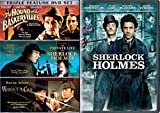 Sherlock Holmes 2005 Movie + Set - 3 Films without a clue, Private Life, Hounds of Baskerville DVD Mystery Set