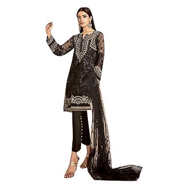b53a2eae28 Bollywood Stil Salwar Kameez kamiz indische Frauen Männer pakistanischen  Kleid muslimischen Kleidung Frauen Mädchen Bunte wollene