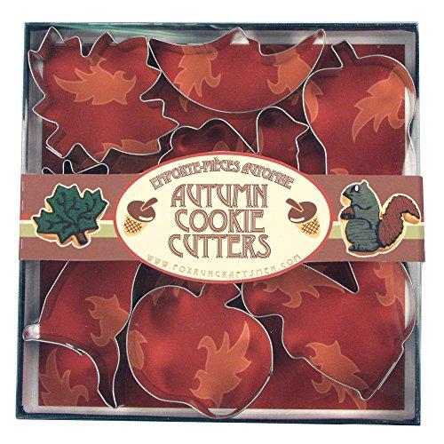 Autumn Cookie (Fox Run 3652 Autumn Cookie Cutter Set, Stainless Steel, 7-Piece)