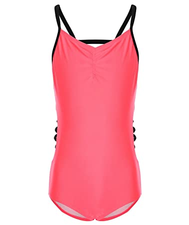 e0a753cacac Sports & Outdoors Sports Apparel BELLOO Little Big Girls Straps Zebra One  Piece Swimwear Swimsuit Bathing ...