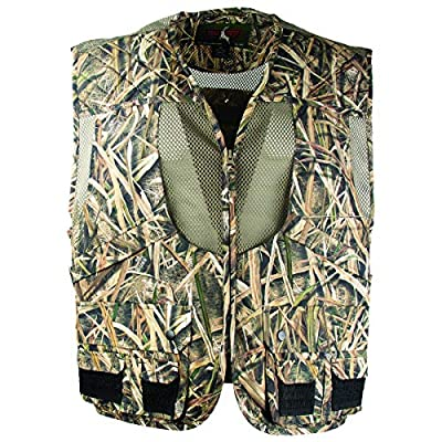 TrailCrest Mossy Oak Breakup Country/Mountain Country/Shadow Grass Deluxe Front Loader Shooting Vest