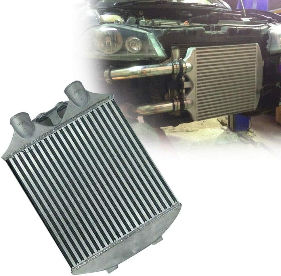 Intercooler de Montaje Frontal, Kit de Enfriamiento Montaje Frontal, Radiador Admisión Aire, Aluminio Aleación Intercooler de Montaje Frontal