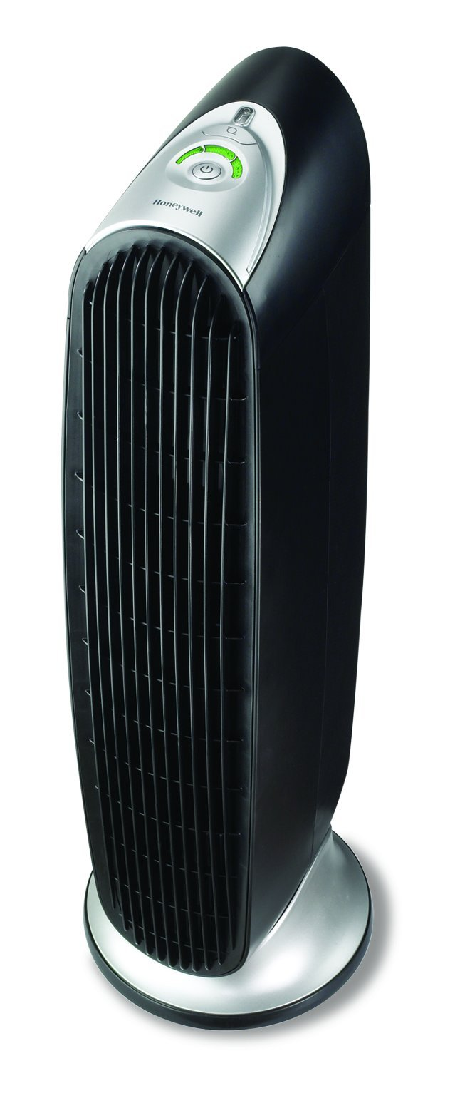 Honeywell HFD-120-Q QuietClean Tower Air Purifier with Permanent Washable Filters