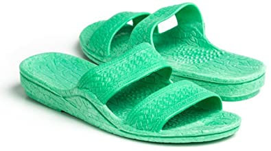 2917a6cfe8b278 Pali Hawaii Unisex Adult Color Jandal Sandal (Green