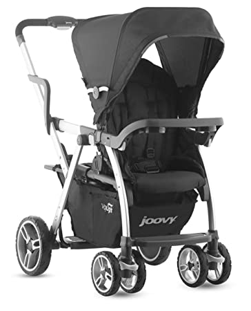 Joovy Caboose VaryLight Double Tandem Stroller Black Discontinued By Manufacturer