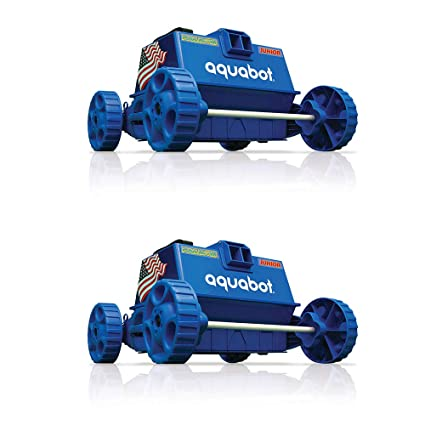 Aquabot Pool Rover Junior/Jr. Above Ground Swimming Pool Robot Cleaner (2  Pack)