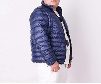 4cec9bd0293 Frozac Plus 7XL Ultra Light Down Jacket Men Lightweight Men's Down Coat  Male Warm Portable Windbreaker Feather Parka at Amazon Men's Clothing store: