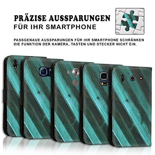 Wallet Book Style Flip Handy Tasche Case Schutz Hülle Schale Motiv Etui für Apple iPhone 6 / 6S - Design Flip MVD37