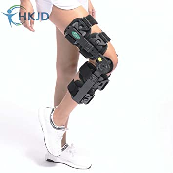 9014e7563d Hinged Knee Brace ROM Knee Immobilizer Brace Leg Braces Orthopedic Patella Knee  Brace Knee Immobilizer Brace