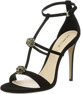 5199102, Sandales Bout Ouvert Femme, Noir (Black 010), 36 EUDeimille