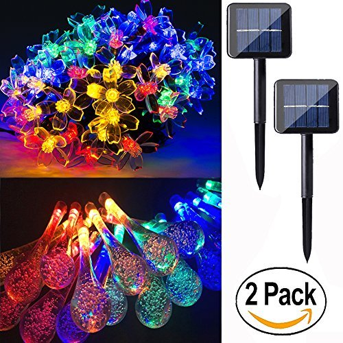 Multi Colored Solar String Lights in US - 7