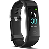 CHKDSK Fitness Tracker with Step Counter Calories Stopwatch,IP68 Activity with Heart Rate Monitor with Sleep Tracker…