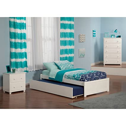 Amazon Com Atlantic Furniture Nantucket Bed Set Twin Bed With