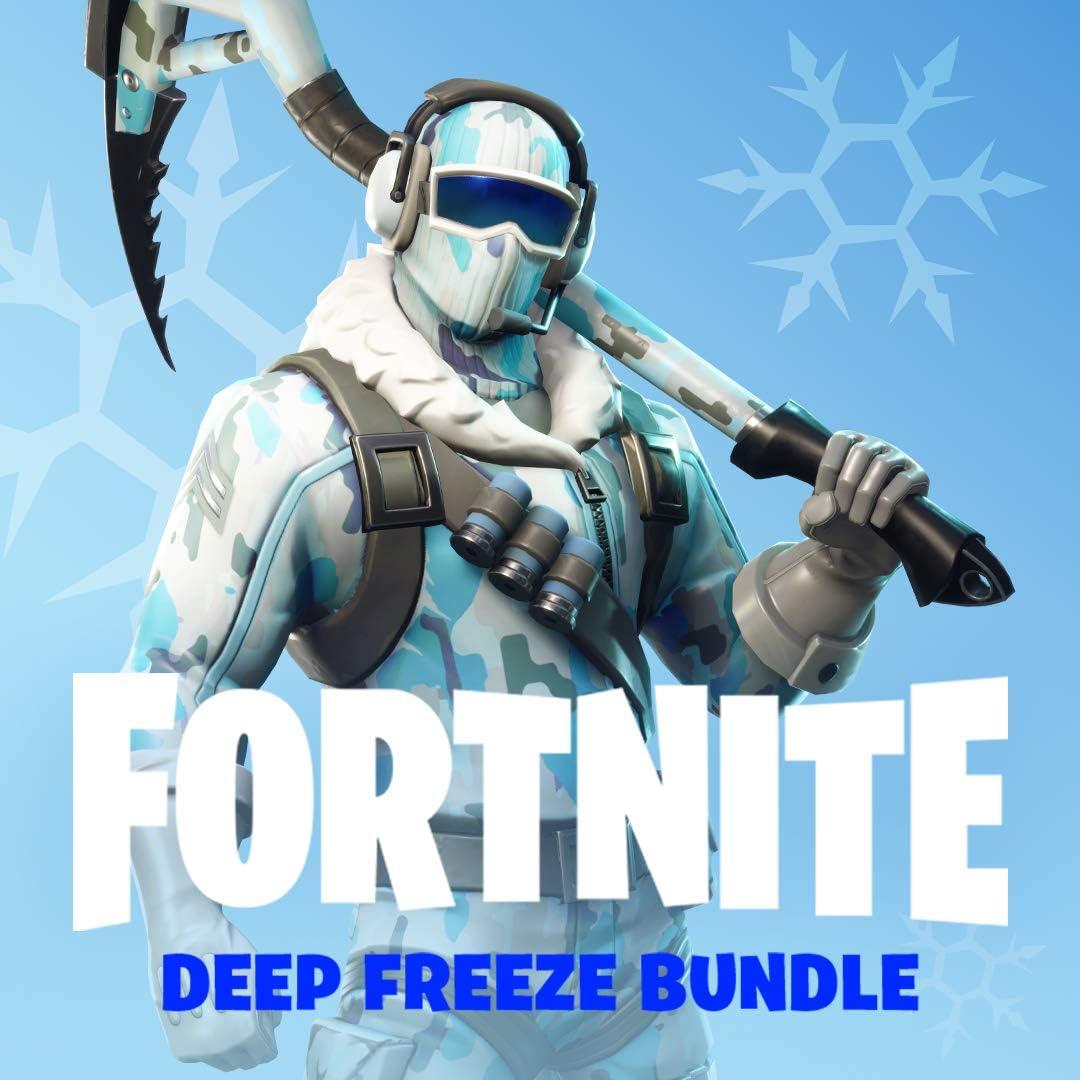 Amazon com: Warner Bros Fortnite: Deep Freeze Bundle - PlayStation 4