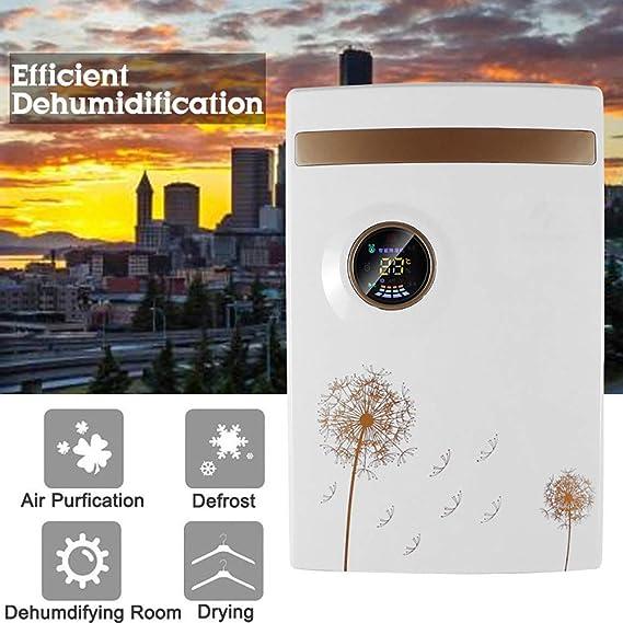 Dsnmm 1500ml deshumidificador, Sensor de Temperatura y Humedad ...
