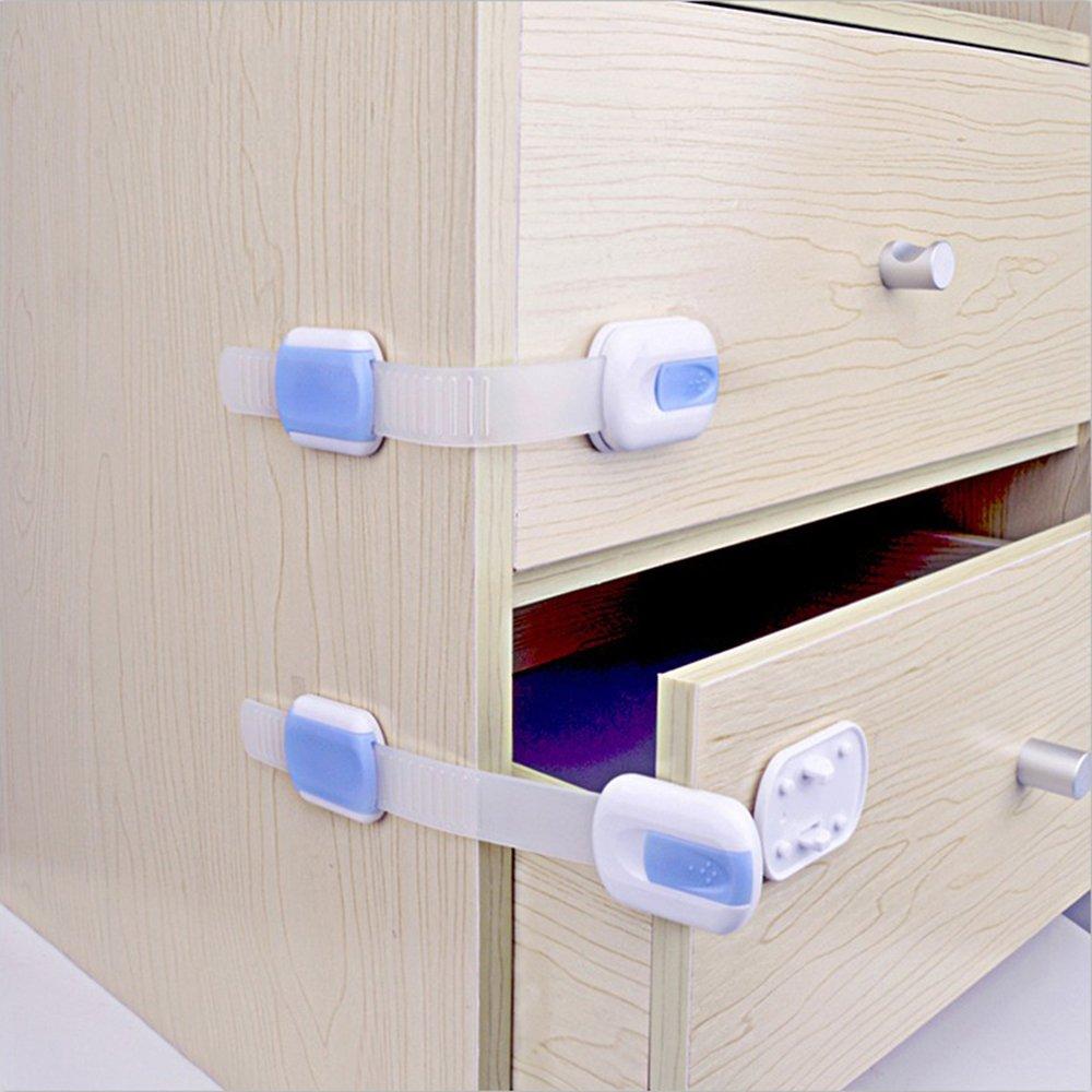 TININNA 3 Stück Baby Sicherheitsschlösser Magnet Schlösser für ...